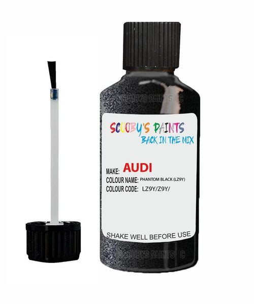 audi a4 allroad quattro phantom black code lz9y touch up paint 2005 2016 Scratch Stone Chip Repair