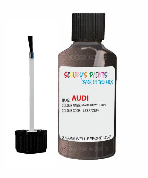 Audi A4 Samba Brown Code Lz8P Touch Up Paint 1997-2001