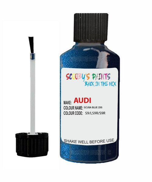 Audi A5 Sportback Scuba Blue Code S9 Touch Up Paint