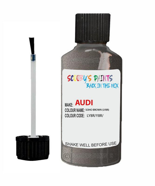 Audi A1 Soho Brown Code Ly8R Touch Up Paint 2015-2017