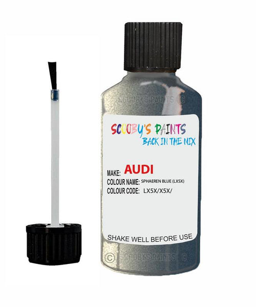 Audi A6 Allroad Sphaeren Blue Code Lx5X Touch Up Paint