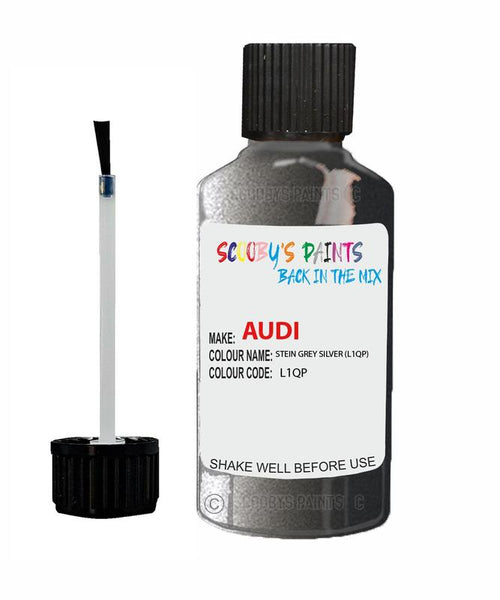 Audi A5 Stein Grey Code U8 Touch Up Paint 1990-1992