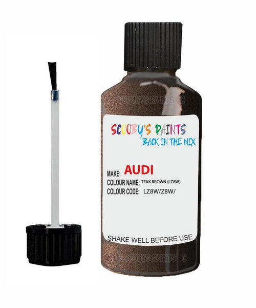 Audi A5 Coupe Teak Brown Code Lz8W Touch Up Paint 2008-2016