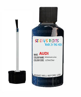 audi a8 tiefsee blue code lz5a touch up paint 2006 2015 Scratch Stone Chip Repair