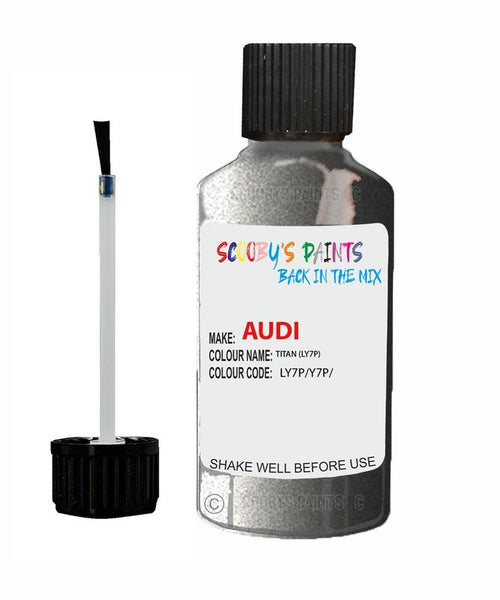 Audi A3/S3 Titan Code Ly7P Touch Up Paint 1990-2000