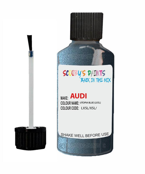 Audi A5 Utopia Blue Code Lx5L Touch Up Paint 2014-2018