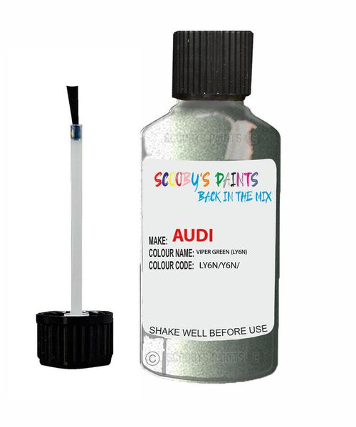 Audi A3/S3 Viper Green Code Ly6N Touch Up Paint 1991-1993