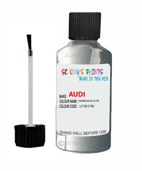 Audi A3/S3 Zauber Blue Code Ly7R Touch Up Paint 2000-2005