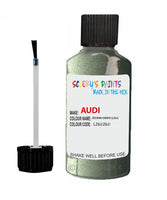 Audi A4 Zedern Green Code Lz6J Touch Up Paint 2001-2002