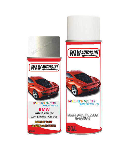 Bmw 5 Series Amazon Silver X07 Car Aerosol Spray Paint Rattle Can