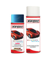 Bmw X5 Estoril Blue 335 Car Aerosol Spray Paint Rattle Can
