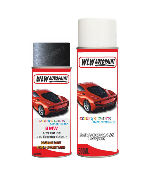 Bmw 5 Series Fjord Gray 310 Car Aerosol Spray Paint Rattle Can