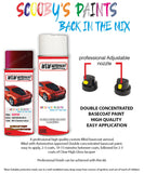 Bmw 6 Series Aventurine Red Wx1C Car Aerosol Spray Paint Rattle Can