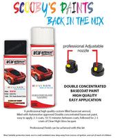Bmw Z4 Black Yf01 Car Aerosol Spray Paint Rattle Can