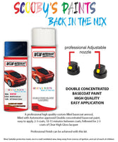 Bmw X3 Mauritius Blue 287 Car Aerosol Spray Paint Rattle Can