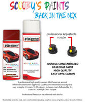 Bmw 2 Series Melbourne Red Wa75 Car Aerosol Spray Paint Rattle Can