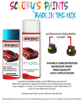 Bmw I3 P Redonic Blue Wc04 Car Aerosol Spray Paint Rattle Can