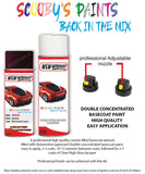 Bmw 6 Series Red Wc25 Car Aerosol Spray Paint Rattle Can