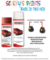 Bmw 3 Series Sierra Red 357 Car Aerosol Spray Paint Rattle Can
