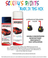 Bmw 6 Series Tansanit Blue Wc3Z Car Aerosol Spray Paint Rattle Can