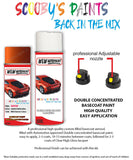 Bmw Z4 Valencia Orange Wb44 Car Aerosol Spray Paint Rattle Can