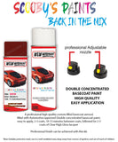 Bmw 6 Series Ziegel Red F11 Car Aerosol Spray Paint Rattle Can