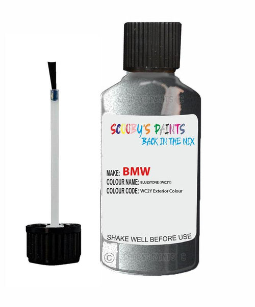 Bmw 5 Series Bluestone Code Wc2Y Touch Up Paint 2016-2019