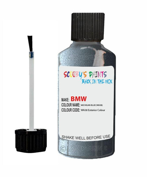 Bmw 7 Series Michiganblau Code Wa38 Touch Up Paint