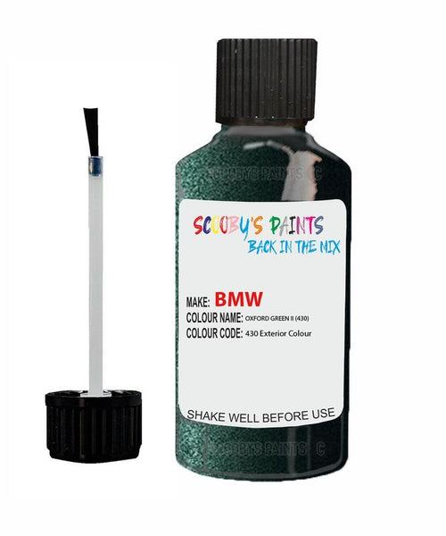 bmw z3 oxfordgruen ii code 430 touch up paint 1999 2008 Scratch Stone Chip Repair