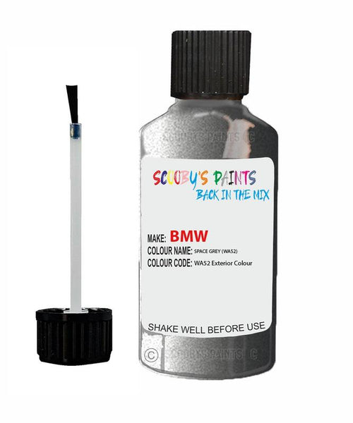 Bmw 5 Series Spacegrau Code Wa52 Touch Up Paint 2006-2018