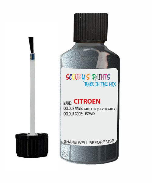 Citroen Xsara Picasso Gris Fer Code Ezwd Touch Up Paint