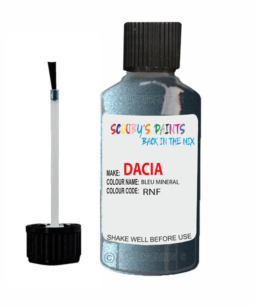 Dacia Lodgy Bleu Mineral (Blue) Code: Rnf Car Touch Up Paint