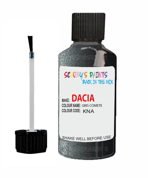 Dacia Dokker Gris Comete (Silver/Grey) Code: Kna Car Touch Up Paint