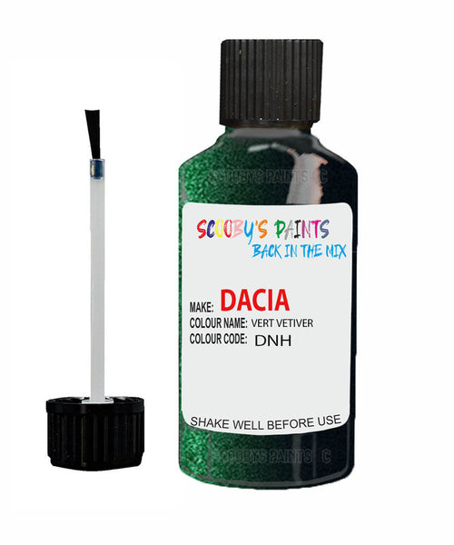 Dacia Logan Vert Vetiver (Green) Code: Dnh Car Touch Up Paint