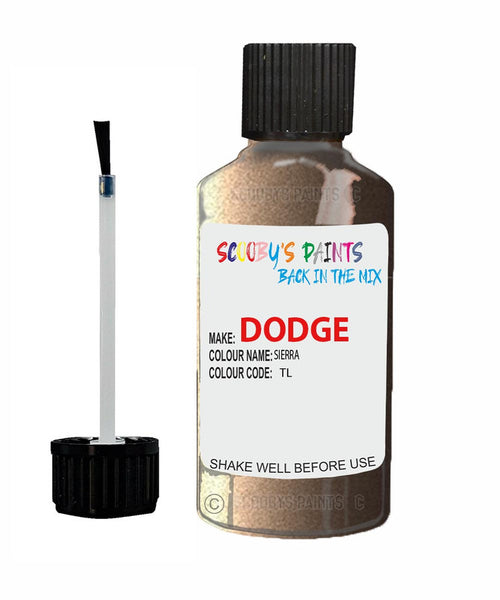 Dodge Durango Sierra Tl Touch Up Paint Scratch Stone Chip