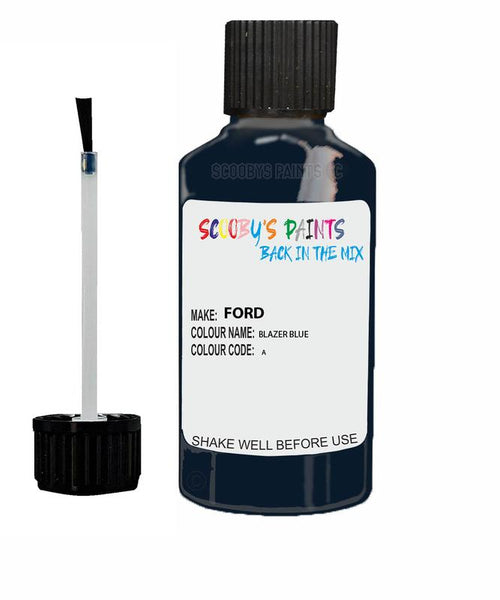 Ford Mondeo Blazer Blue Code A Touch Up Paint 2007-2020