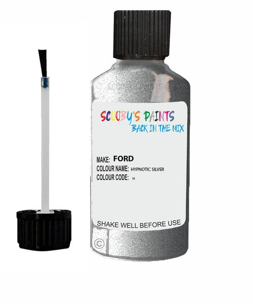 Ford Mondeo Hypnotic Silver Code H Touch Up Paint 2007-2015