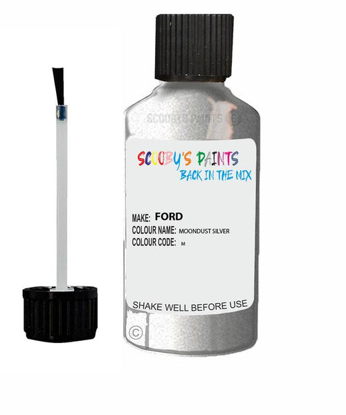 FORD TRANSIT MOONDUST SILVER Code M Touch Up Paint 1990-2020