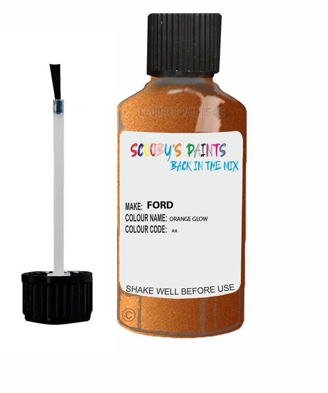FORD FOCUS ORANGE GLOW Code AA Touch Up Paint 2018-2020