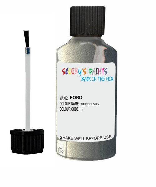 FORD GALAXY THUNDER GREY Code T Touch Up Paint 2007-2015