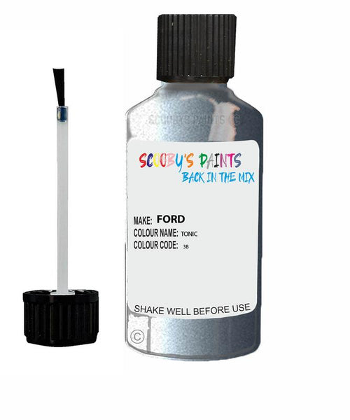 FORD FOCUS TONIC Code 3B Touch Up Paint 2004-2013