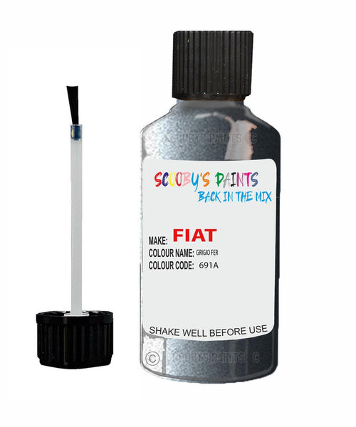 Fiat / Lancia Ducato Van Grigio Fer Code: 691A Car Touch Up Paint