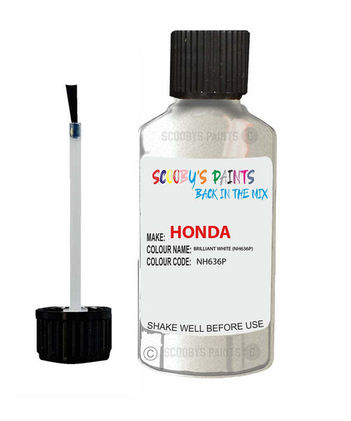 Honda Capa Brilliant White Nh636P Car Touch Up Paint Scratch Repair