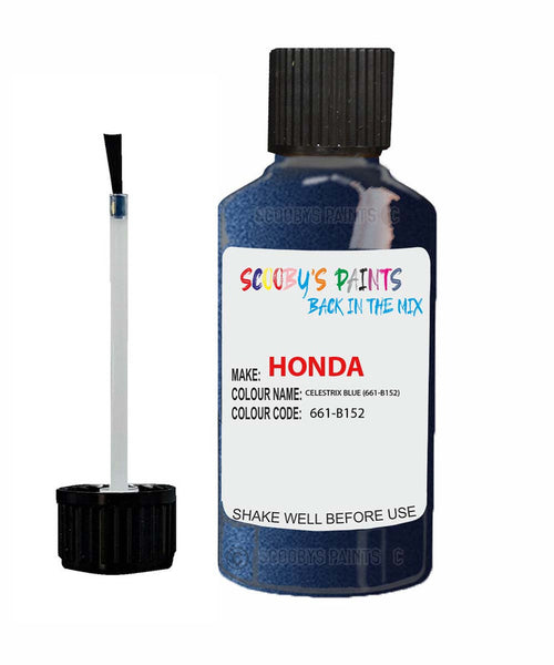 Honda Crv Celestrix Blue 661-B152 Car Touch Up Paint Scratch Repair