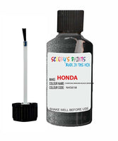 Honda Concerto Charcoal/Niagara Black Code Nh581M Touch Up Paint 1993-1995