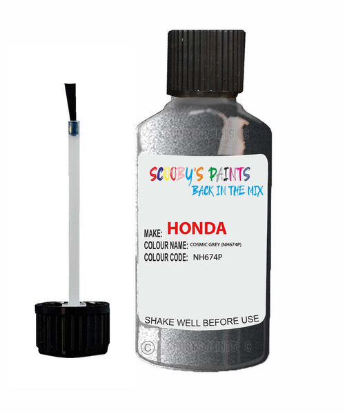 Honda Civic Cosmic Grey Code Nh674P Touch Up Paint 2003-2008