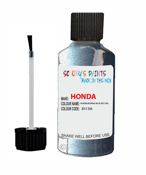 Honda S2000 Nuerburgring Blue B513M Car Touch Up Paint Scratch Repair