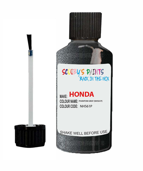 Honda Prelude Phantom Gray Nh561P Car Touch Up Paint Scratch Repair