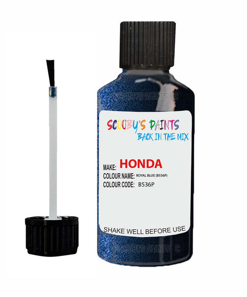 Honda Stream Royal Blue B536P Car Touch Up Paint Scratch Repair