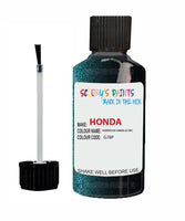 Honda Prelude Sherwood Green Code G78P Touch Up Paint 1993-2005